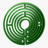 maya maze circle