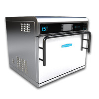 3d model commercial counter oven