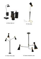 28 lamps - 3d c4d