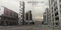3ds max abandoned city building