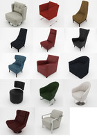 3ds max pack armchair chair
