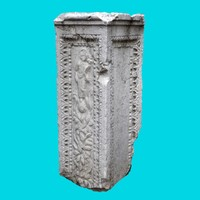 3d max roman column 1