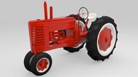 Vintage Field Tractor