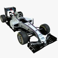 formula 1 williams fw37 3d ma