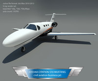 cessna citation 510 3d max