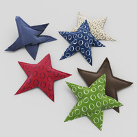 3d pillows star model