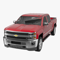 Chevrolet Silverado 2500HD Crew Cab 2015 Pickup Without Interior