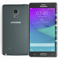 Samsung Galaxy Note Edge Black