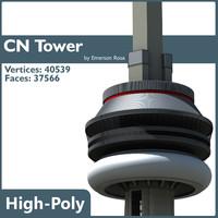 3d cn tower