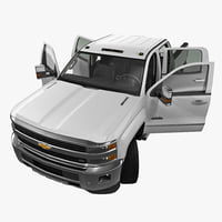 Chevrolet Silverado 3500HD 2015 High Country Pickup Rigged