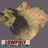 mountain maps terrain 3ds