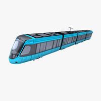 train alstom 3d model