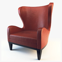 3d wing chair