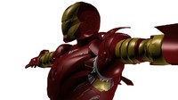 3ds max iron suit mark 2
