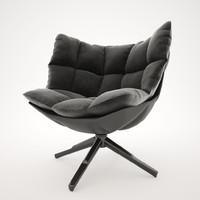 3d model husk designer patricia