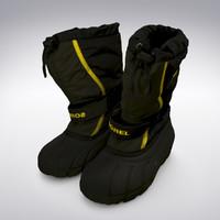 Sorel Snow Boots - 3D Scanned