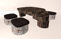 Wooden table& Chairs