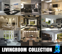 livingrooms 2 3d 3ds