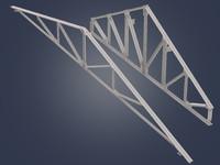 3d model metal trusses