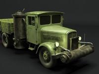 3d german truck
