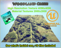 Terrain HeightMap UDK Ready