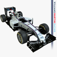 3d model of formula 1 williams fw37