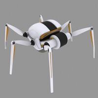 croww 540 spider robot 3d max