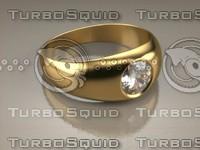 ring saperia 3d model