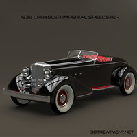 3d 1932 chrysler imperial model