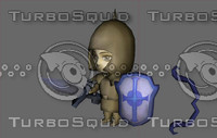 Diablo 2 Paladin Knight Cartoon toon