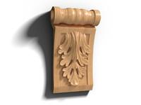 3ds max wooden decor