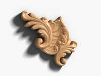 wooden decor 3d ma
