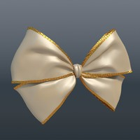 3ds max beige bow