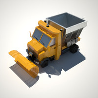 Low-poly Snowplow