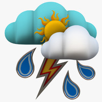 set weather forecast thunder max