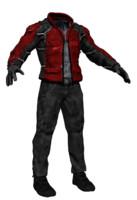 male costume 3d fbx
