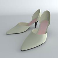 3d shoes female