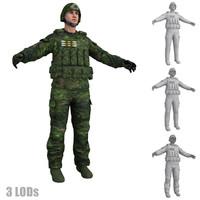 3dsmax soldier 2