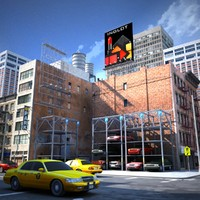 nyc downtown 3d model