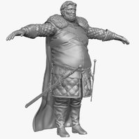 Heavy Medieval Man A Zbrush Sculpt