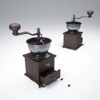 coffee-grinder 3d max