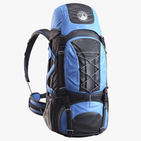 3d backpack alpine