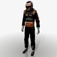 3d model of formula nico hulkenberg 2015