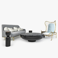 3d furniture set se london2