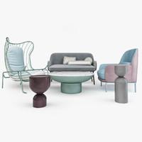 3ds max furniture set se london2