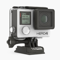 3d gopro hero 4 action