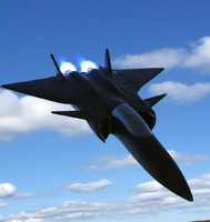 3d chinese fighter air model