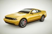 generic muscle-car v2 car c4d
