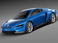 3d 2015 sport volkswagen model