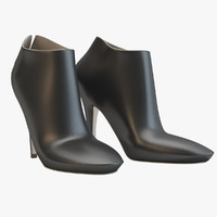 3d ankle boots caovilla model